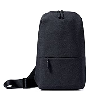 ANGGO Mens Chest Bag, Original Xiaomi Crossbody Bag Fashion Sling Bags Backpack Daypack for Outdoor Cycling Mountain Climbing Business Casual Sport Hiking Travel