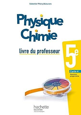 Livre Physique Chimie - Physique-Chimie cycle 4 / 5e - Livre