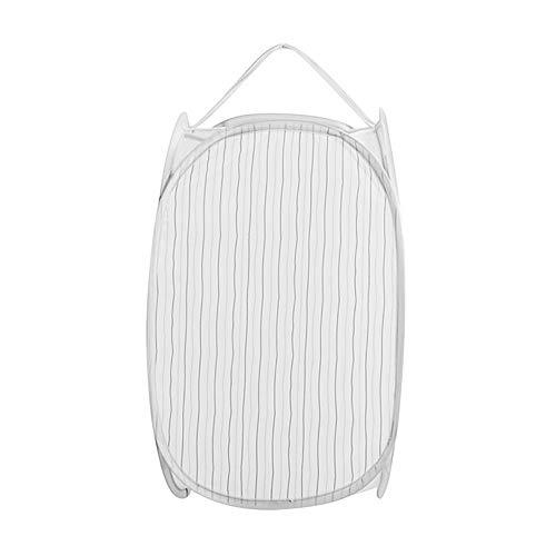 Serria® Baby Wäschekorb Cartoon Streifen Faltbare Pop Up Waschen Wäschekorb Tasche Korb Mesh Lagerung - Mesh-baby-wäsche-tasche