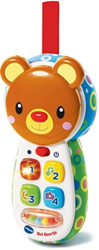 VTech Baby Bel Beertje - Juegos educativos, Niño/niña, 0,25 año(s), 2 año(s), Oso, Holandés