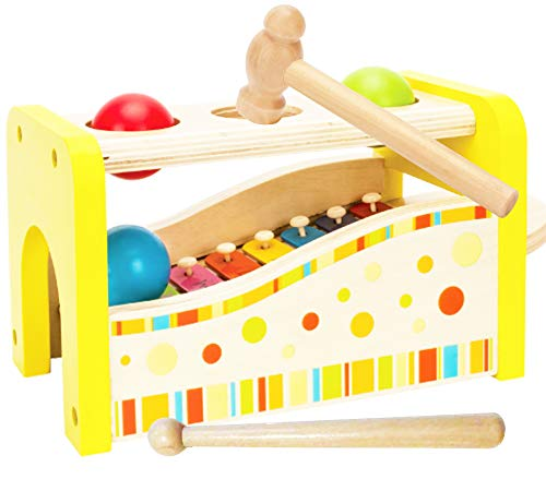 Toys of Wood Oxford Juguete Musical Hammer and Balls