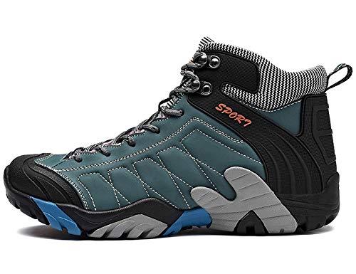 SINOES Wanderschuhe Trekking Schuhe Herren Damen Sports Outdoor Hiking Sneaker