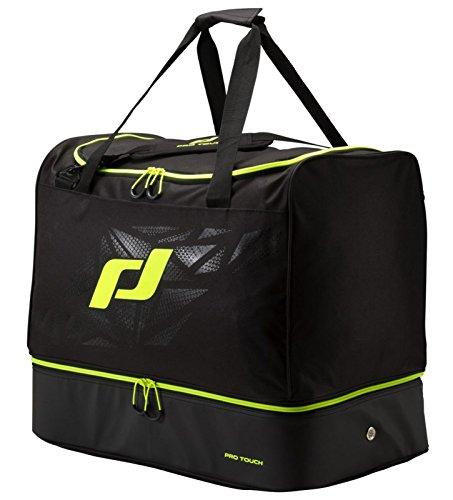 Pro Touch Sporttasche Pro Bag L Force Schultertasche, Schwarz/Gelb, One Size