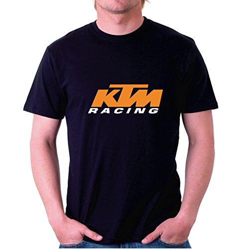 Camiseta motor KTM RACING Factor RS Original (3XL, Negra)