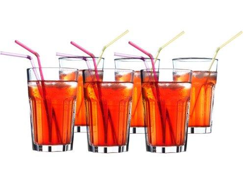 ikea-6-er-set-glaser-pokal-stapelbares-glas-fur-cocktail-longdrink-tee-kaffee-wasser-350ml-14cm-hoch