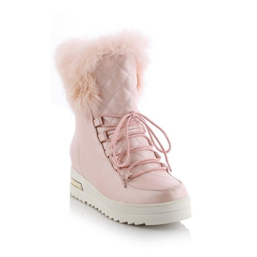 A&N - Pantofole a Stivaletto donna Pink