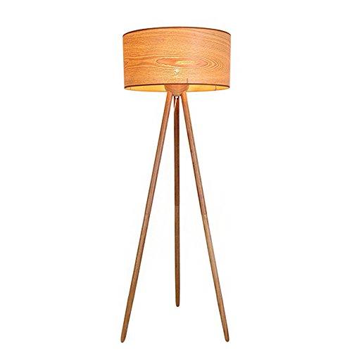 Black-Rain® 150*50*25cm Original Minimalist Style Solid Wood Tripod Landing Art Lamps