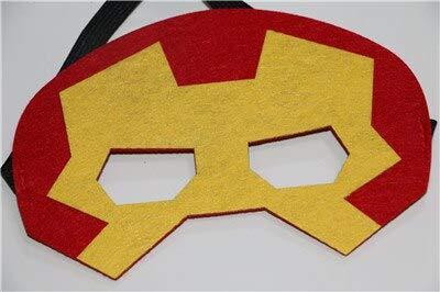 Superheld Maske Cosplay Superman Spiderman Hulk Thor Ironman Flash Prinzessin Halloween Weihnachten Kinder Erwachsene Party Kostüme Masken, wie die Bilder (Kinder Flash Kostüm Die)