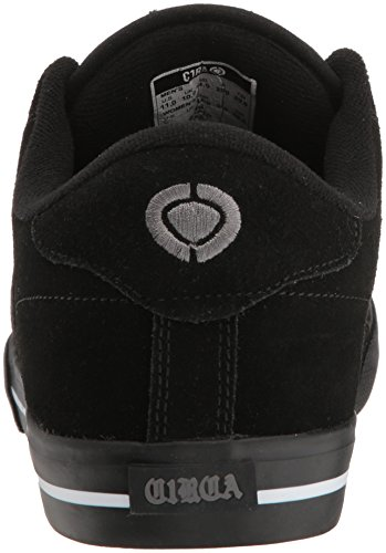 C1RCA - Lopez 50, Scarpe da ginnastica Unisex – Adulto Schwarz (Black/White/Gray)