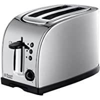Russell Hobbs Texas 2-Slice Toaster 18096 - Stainless Steel and Silver