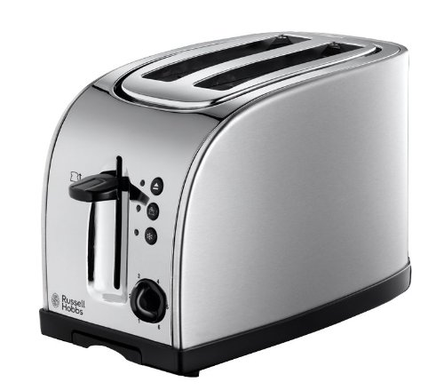 Russell Hobbs Texas 2-Slice Toaster 18096 - Stainless Steel and Silver Best Price and Cheapest