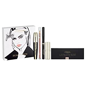 L'Oreal Cosmetics Kristina Bazan Full Box Kit Contains Eyeshadow Palette, Lipstick and Lipliner, Mascara and Eye liner
