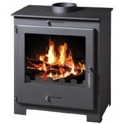 Estufa de leña chimenea moderno sólido Log quemador agua chaqueta 11kW