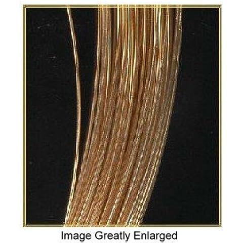 14kt Gold Jewelry Wire Hard 30 Gauge 14k 6 by uGems