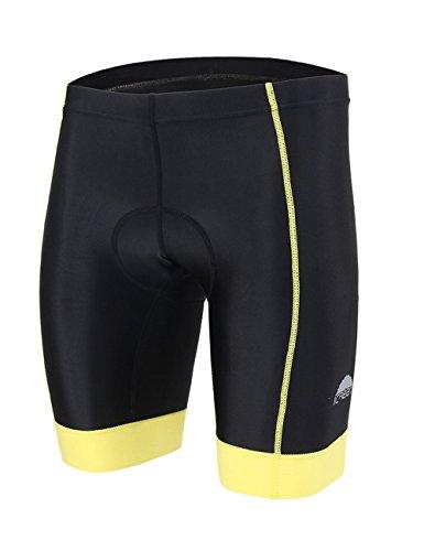 icreat-herren-fahrradhose-radhose-kurz-radlerhose-radshort-sporthose-mit-sitzpolster-gelb-size-xl
