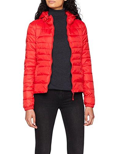 ONLY NOS Damen Jacke Onltahoe Hood Jacket Otw Noos, Rot (Goji Berry), 36(Herstellergröße: S)