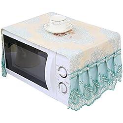 Horno microondas Guardapolvo Tapa de aceite Cubierta de tela de microondas Cubierta del horno 33 * 95cm