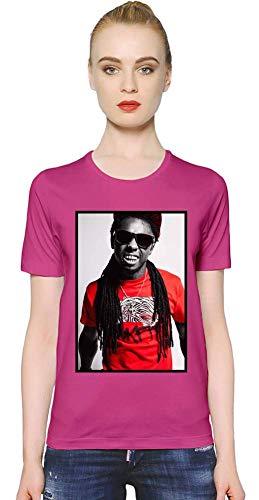 Lil Wayne YMCMB YMCMB Women T-Shirt Girl Ladies Stylish Fashion Fit Custom Apparel by Small - Shirt Rosa Lil Wayne