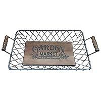 All Chic Handmade Wood Trug Basket Tray Fruit Garden Flowers Market Veg UK