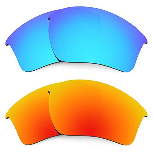 Revant Ersatzlinsen für Oakley Half Jacket 2.0 XL Polarisiert 2 Paar Kombipack K002
