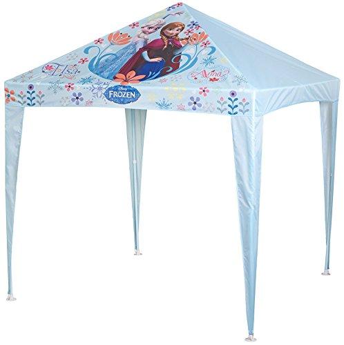 Disney Frozen Gazebo da giardino per bambini, con Elsa & Anna, ideale per feste, campeggio,