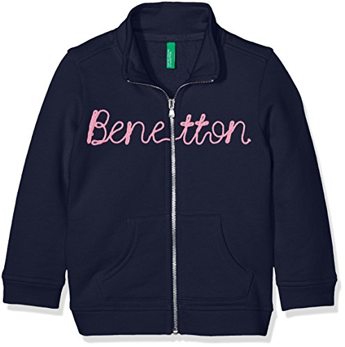 united-colors-of-benetton-girls-jacket-blue-navy-6-7-years-manufacturer-sizesmall