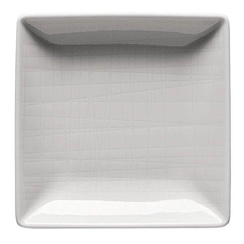 Rosenthal 11770-800001-15288 Mesh Schale, quadratisch, 10 cm, weiß Mesh 10