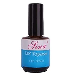 Top coat UV couche éclatante gel vernis brillant, manicure artistique!