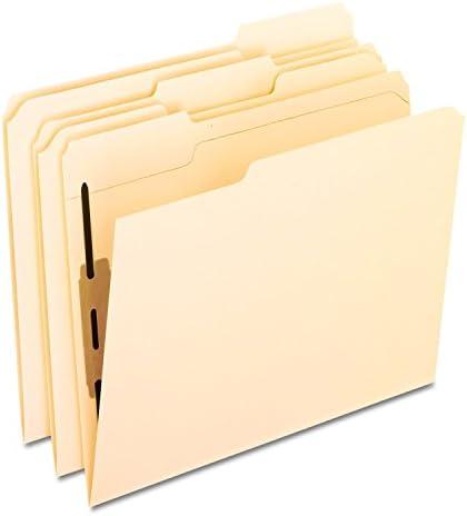 Pendaflex dossiers Fermeture W/1 reconstitué, 1/3 Cut Cut Cut Top Tab, Letter, taille, Femmeille, 50 par boîte (M13u1)   Impeccable  77262e