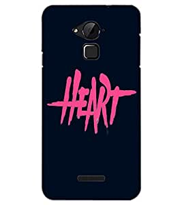COOLPAD NOTE 3 HEART Back Cover by PRINTSWAG