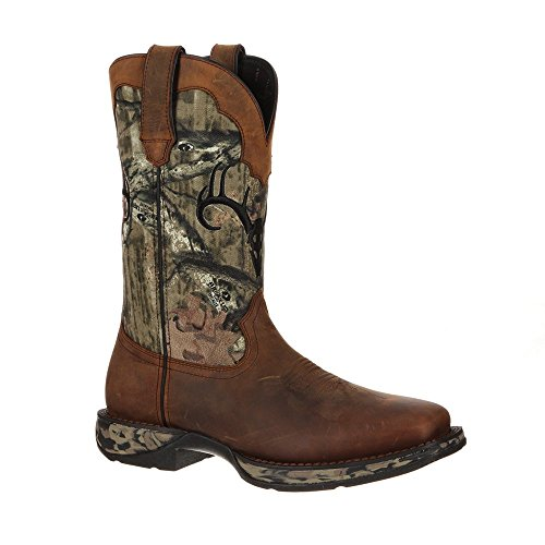 Durango Workin' Rebel Cuir Santiags Brown-Forest