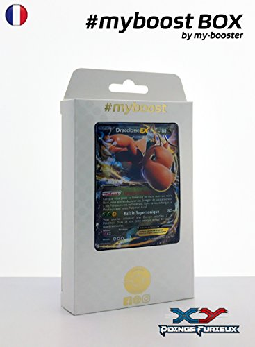 Coffret #myboost DRACOLOSSE EX 74/111 - XY03 Points Furieux- 10 cartes Pokemon francaises