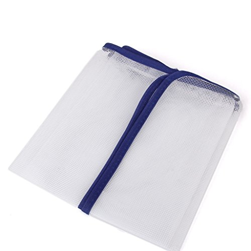 2er Set Bügeltuch Bügelhilfe für Dampf-Bügeleisen, Bügelschutz-Tuch Bügeltücher für Seide, Nylon, Perlon und andere empfindliche Stoffe bis 200° C hitzebeständig (Seide Samt Decke)