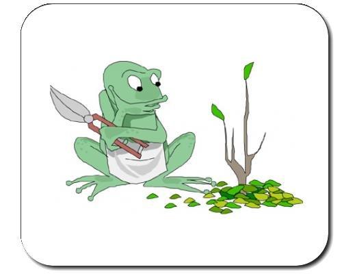 mauspad-mit-der-grafik-trimmen-frosch