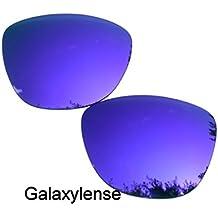 Galaxy verres de rechange pour Oakley Frogskins (peaux De Grenouille)  Violet Couleur Polarisé c6b9f30e9ca3