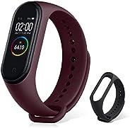 Xiaomi Mi Band 4 Pulsera de Actividad,Monitores de Actividad,Pantalla Pulsómetro Fitness Tracker, Smartwatch c