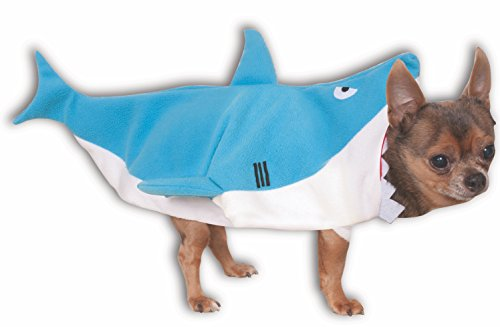 Rubies Offizielles Pet Hund Kostüm, Shark, X-Large