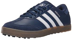 Adidas Herren Hybrid V Golf ohne Schuh, blau - Mineral Blue S16/Ftwr White/Gum4 - Größe: 43 EU