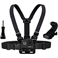 Sametop Ajustable Arnés Correa de Pecho Chest Mount Harness para GoPro Hero 5, 4, Session, 3+, 3, 2, 1 Cameras
