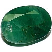 Esmeralda de Pakistán piedra preciosa natural & facettiert 6.76quilates