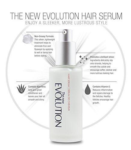HerStyler Evolution Arganöl Haarserum mit Aloe Vera und Vitamin E, 2 FL. Oz / 60 Ml. (1 Packung)