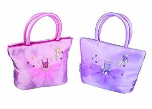 Great Gizmos Pink Poppy Bailarina Bolsa de Mano - Lila