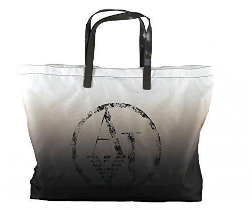 Armani Jeans Tasche Henkeltasche Faltbarer Shopper Bag 922552 (taupe-beige)