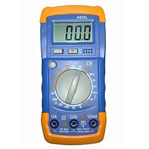 NEOU multimètre numérique à cristaux liquides (A830L) voltmètre ampèremètre ohmmètre testeur OHM VOLT