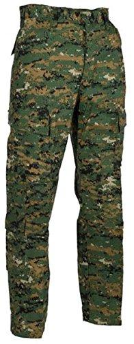 US Army Feldhose ACU All Digital Combat Uniform Freizeithose Kampfhose verschiedene Farben und Größen (S, Digital Woodland) -