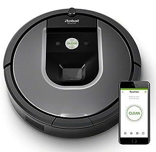 iRobot Roomba 960 - Robot Aspirador Óptimo Mascotas, Succión 5 Veces Superior, Cepillos de Goma Antienredos, Sensores Dirt Detect, Suelos y Alfombras, con Wifi, Programable por App, compatible Alexa (B01IEEVDOK) | Amazon Products