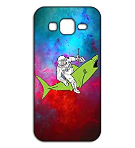 Happoz armstrong sketch Samsung Galaxy J2 accessories Mobile Phone Back Panel Printed Fancy Pouches Accessories Z294