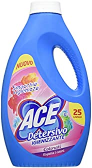 ACE+ Detersivo Liquido Lavatrice Colorati - 1375 ml
