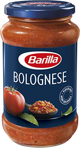 Barilla Pastasauce Bolognese – Bolognese-Sauce 1 Glas (1x400g)