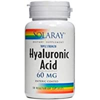 acido hialuronico cap 60mg solaray 30 capsulassulas